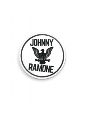 White Johnny Ramone™ Pin