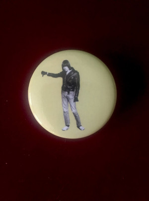 Yellow Johnny Ramone™ Pin