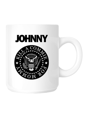 "Johnny Ramone™ ""Kill A Commie"" Mug"