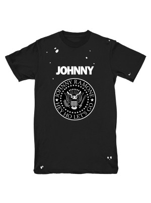 Johnny Ramone™ Distressed Logo T-shirt