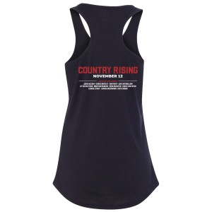 Ladies Black Tank