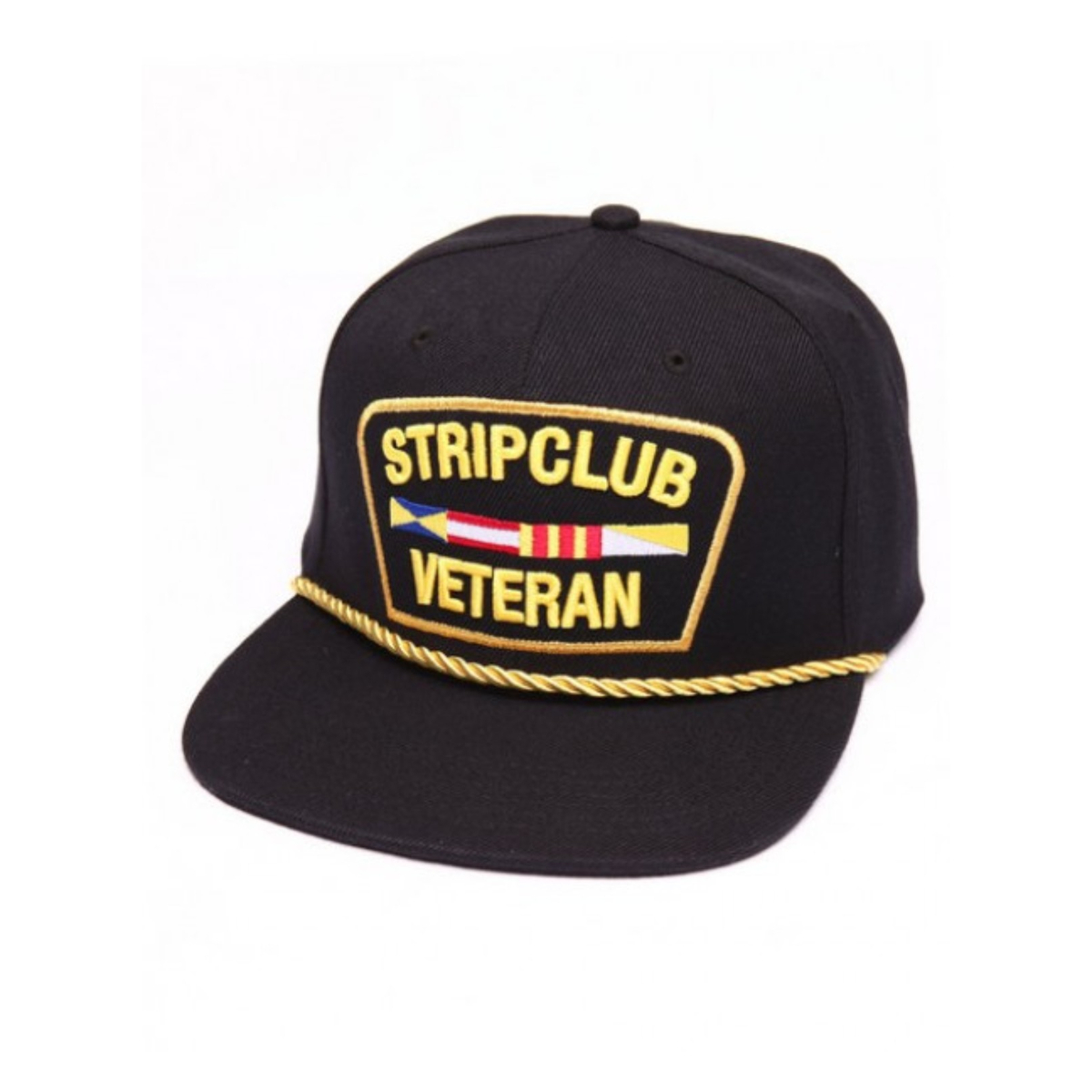 Strip Club Veteran Snapback - Black