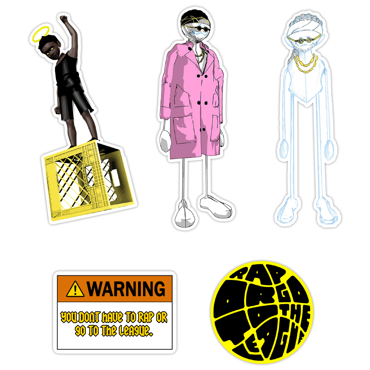 ROGTTL Stickers + Download