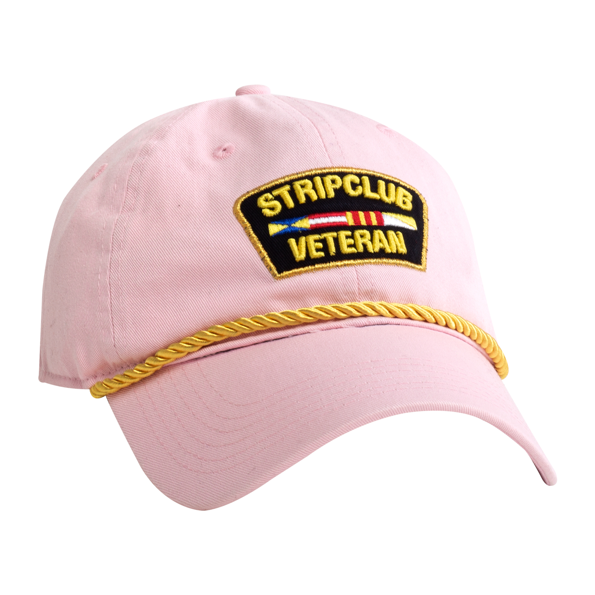 Strip Club Veteran Dad Hat - Pink