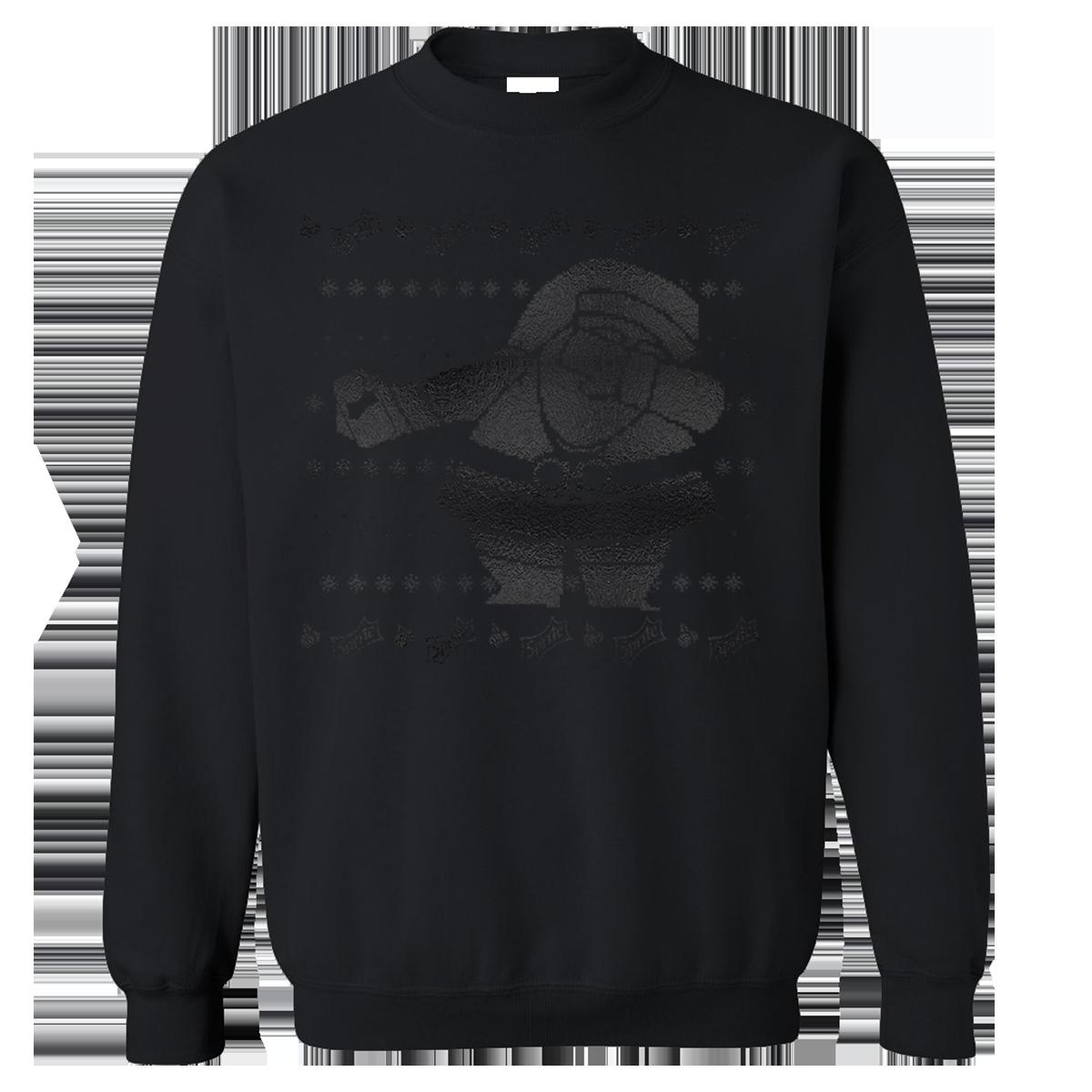 Sprite Cran x Dabbin Santa Black/Black Sweatshirt