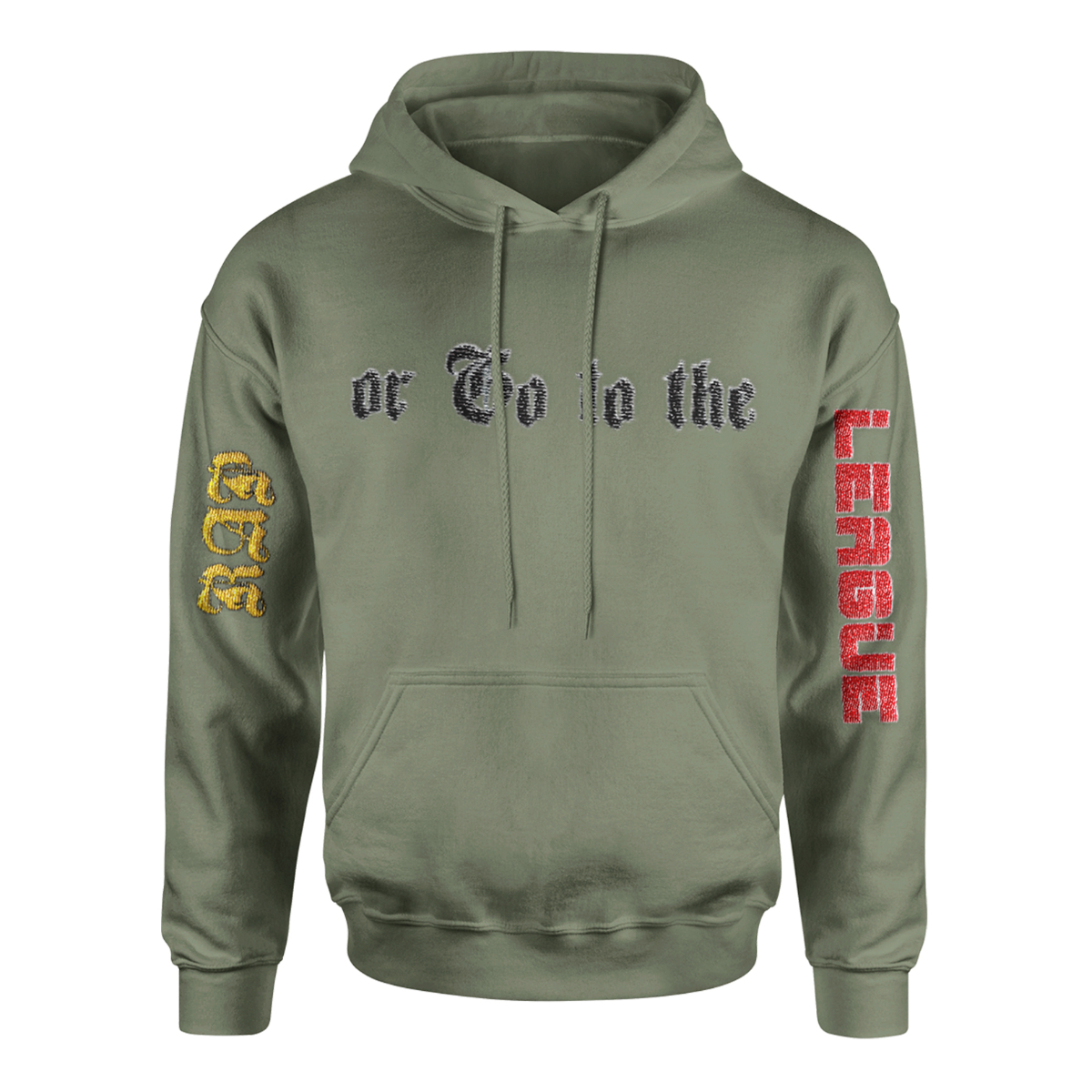 ROGTTL Hoodie [Army Green] + Download