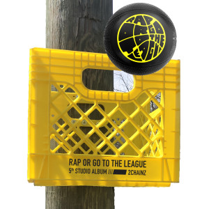 Rap or Go to the League Milk Crate + Mini Basketball + Download