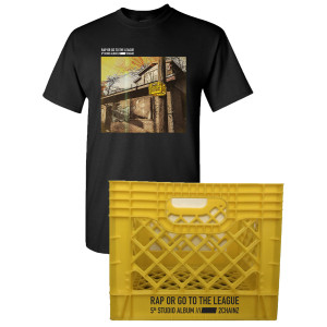 ROGTTL Cover Art T-Shirt + Milk Crate + Download