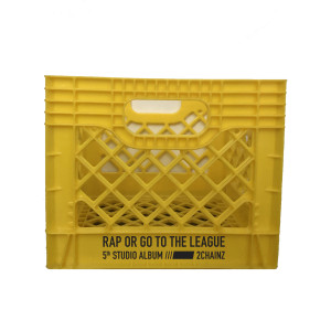Rap or Go to the League Milk Crate + Download