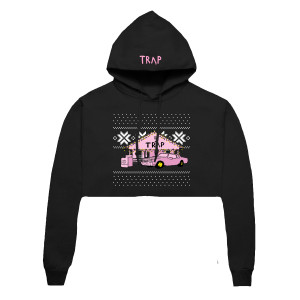 Like Trap Cropped Hoodie