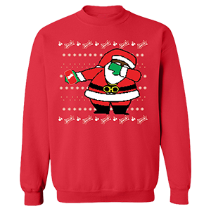 Sprite Cran x Dabbin Santa Sweatshirt [Red]