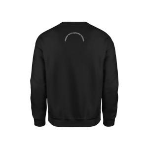Dabbin Santa Silver Sequin Sweatshirt [Black]