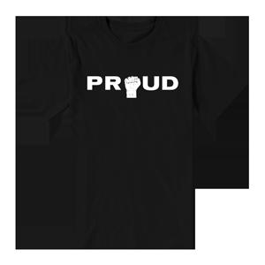 Proud Fist T-Shirt [Black]