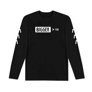 Bigger Than You Symbol L/S T-Shirt