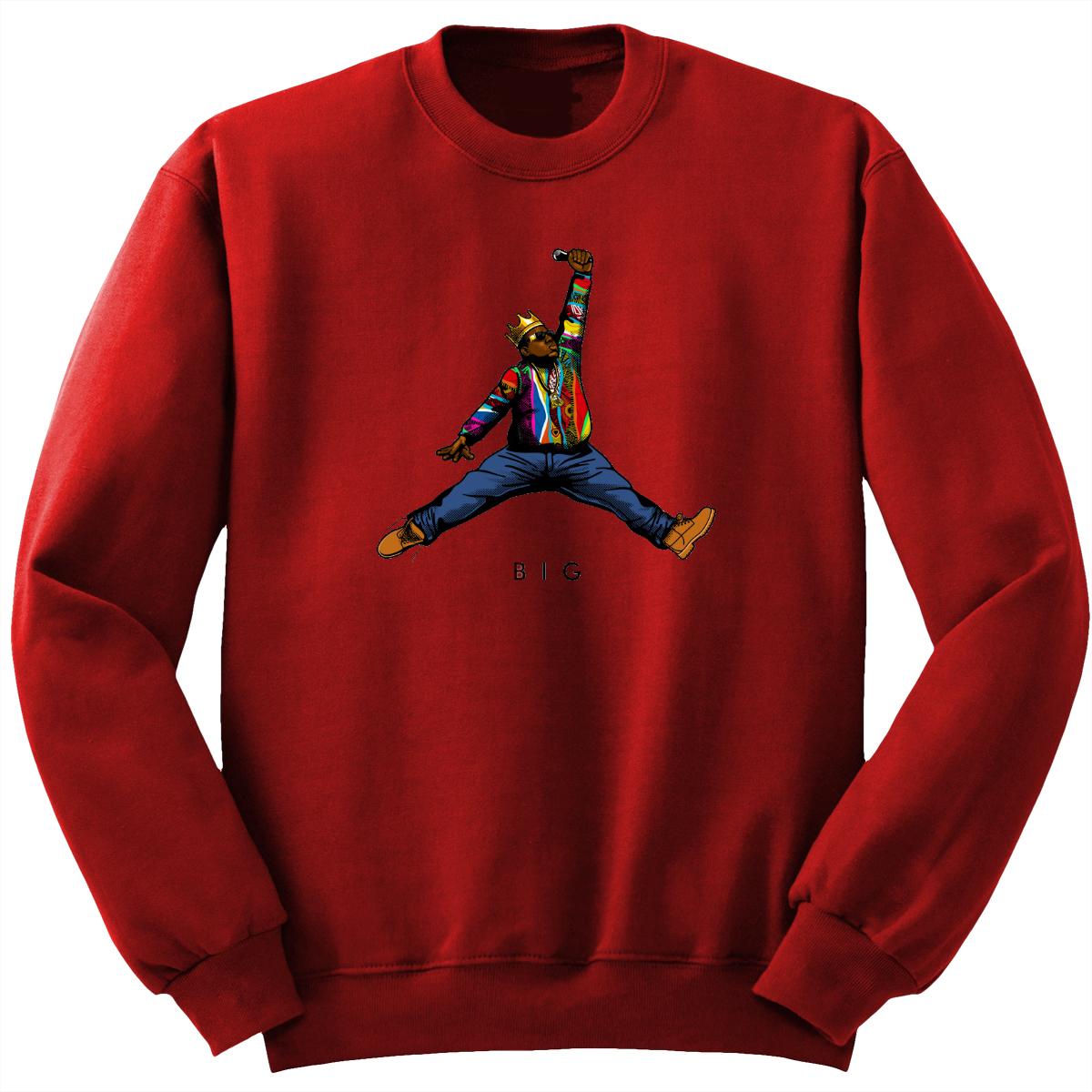 Biggie Jumpman Crewneck Sweatshirt
