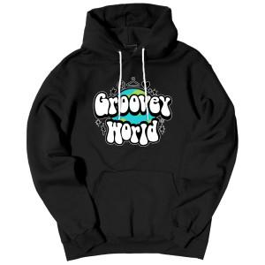 Groovey World Hooded Sweatshirt