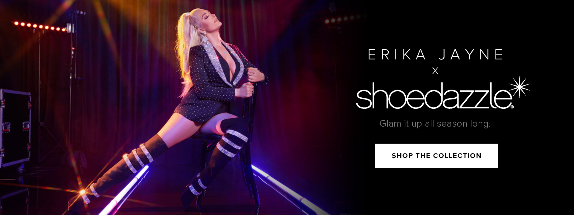 Erika Jayne x ShoeDazzle Collection