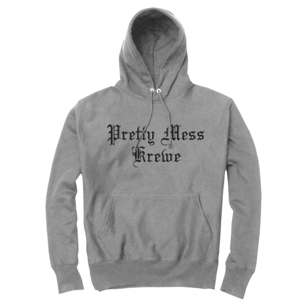 Pretty Mess Krewe Hoodie [Gray]