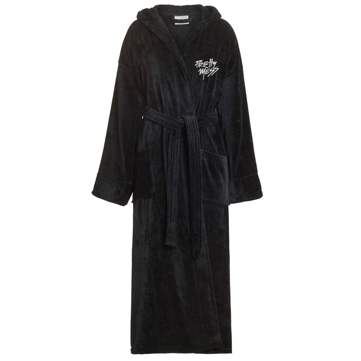 Pretty Mess Hooded Bath Robe