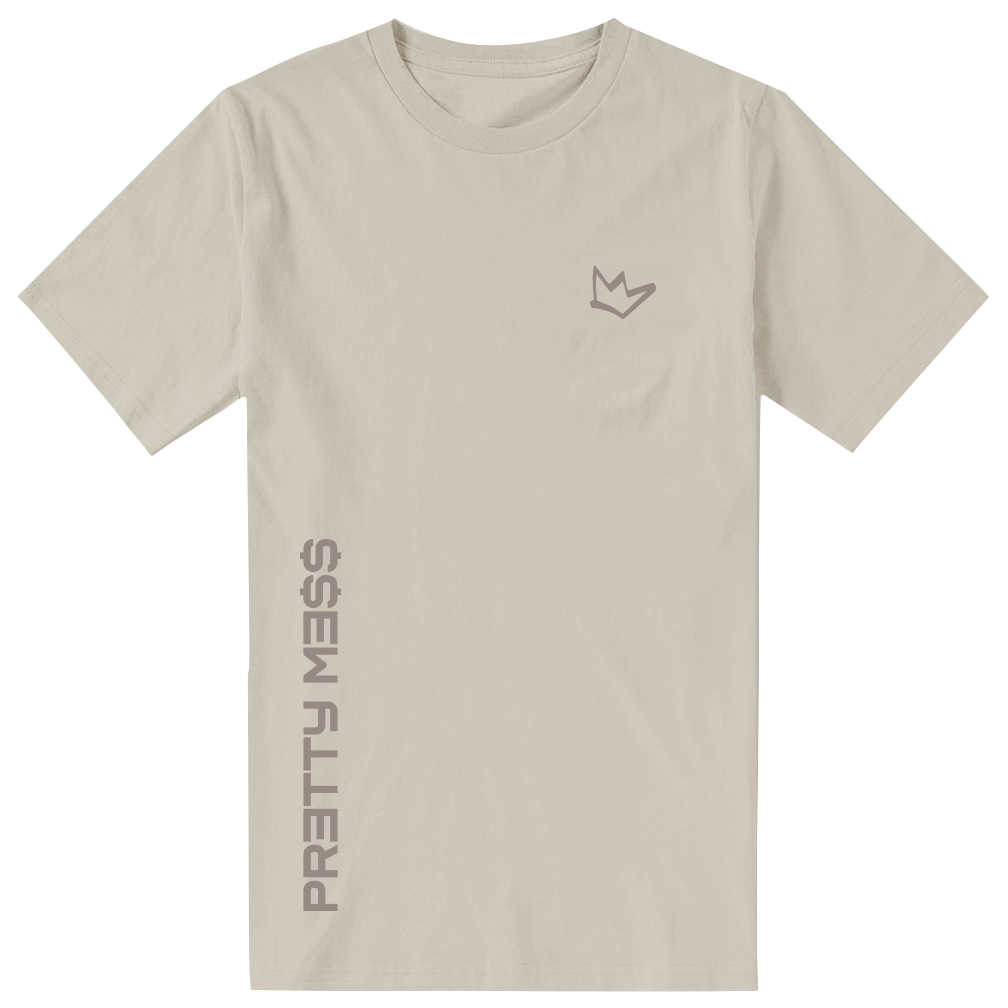 Pretty Me$$ T-Shirt [Tan]