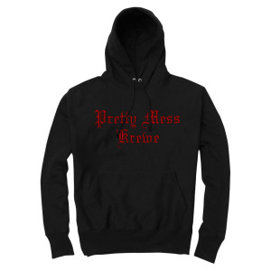 Pretty Mess Krewe Hoodie [Black]