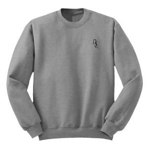 DSL Embroidered Crew Sweatshirt [Heather/Black]