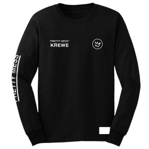 Pretty Mess Krewe Long Sleeve Shirt [Black]