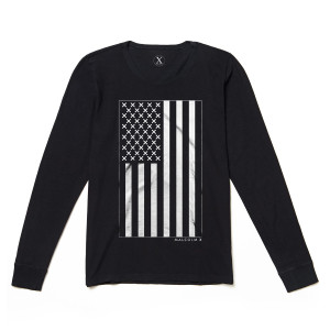 X Vertical Flag L/S Shirt