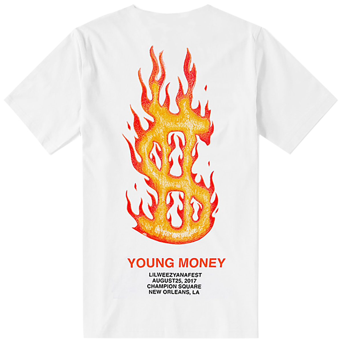 Lilweezyana Fest Logo T-Shirt [White]