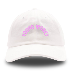 Young Money Arch Dad Hat [White]