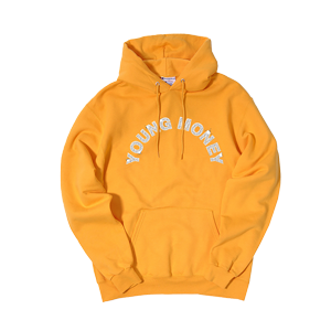 Young Money Arch Hoodie [Orange]