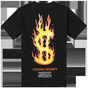 Lilweezyana Fest Logo T-Shirt [Black]