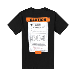 Lilweezyana Fest 504 Caution T-shirt