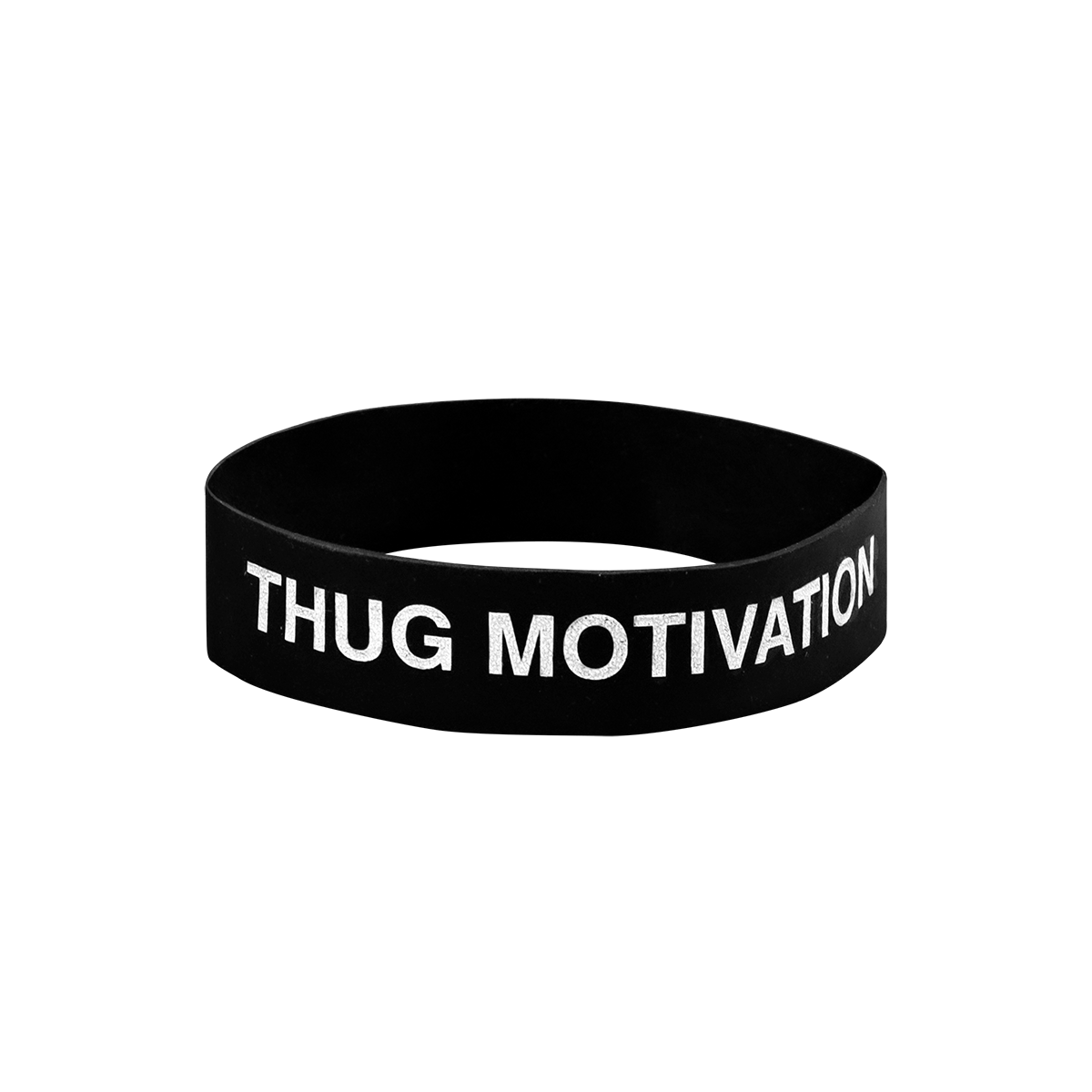 Thug Motivation Rubber Bands