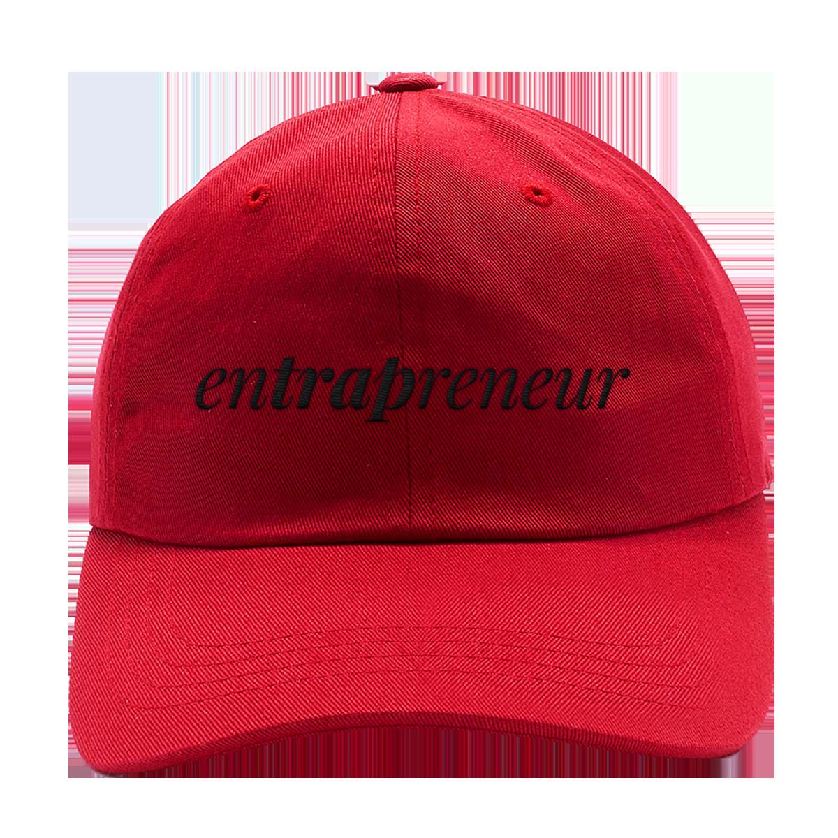 Entrapreneur Dad Hat [Red]