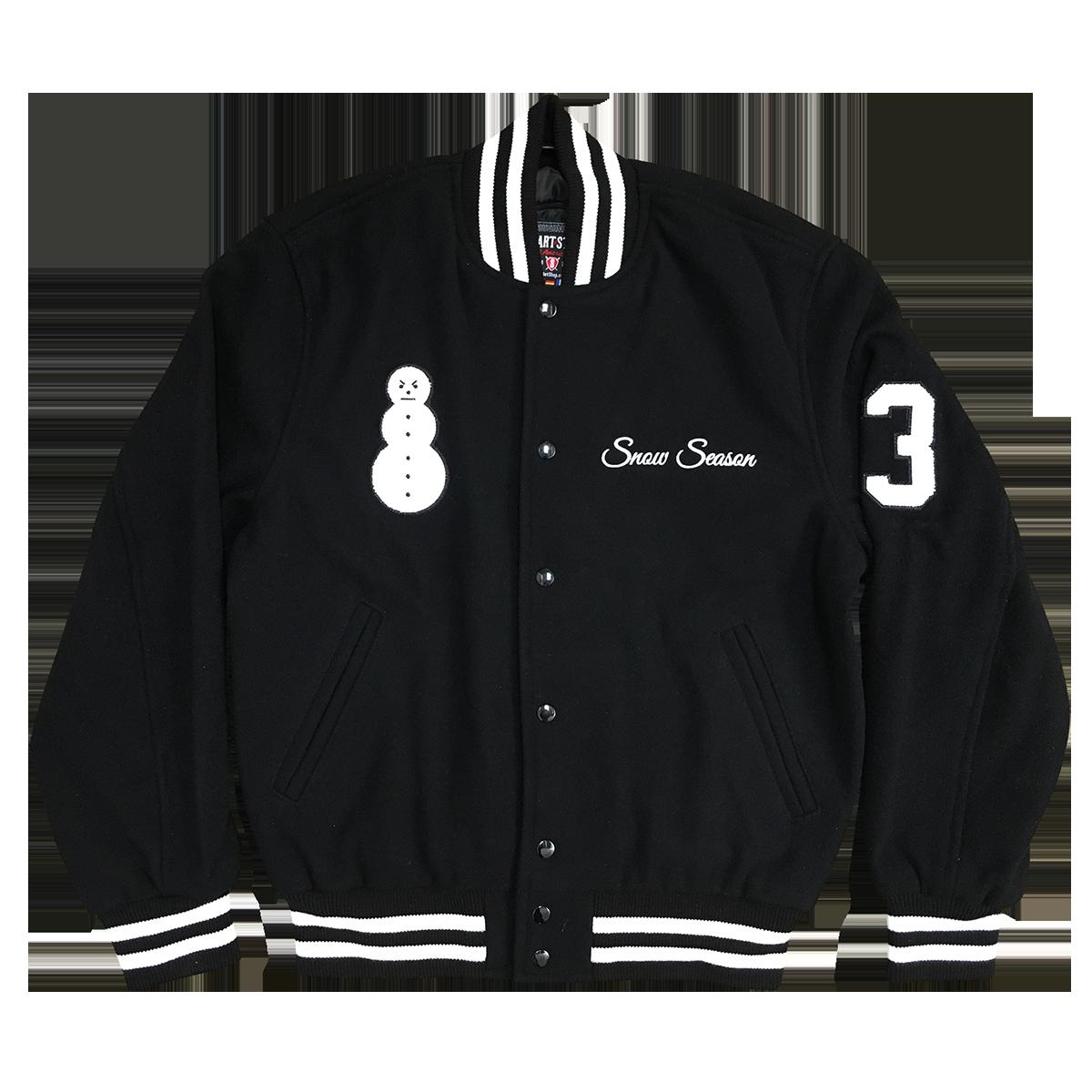 Snowman Letterman Jacket