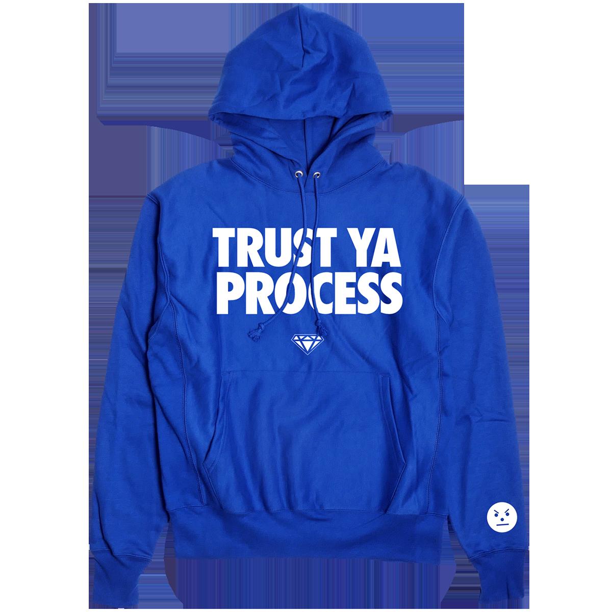 Trust Ya Process Hoodie [Blue]