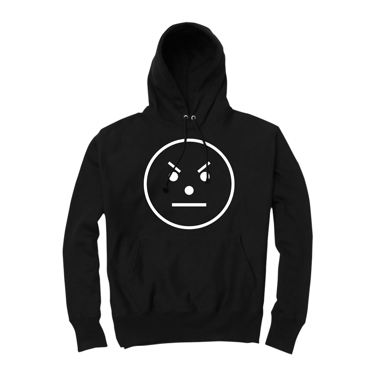 Snowman Emoji Hoodie [Black]