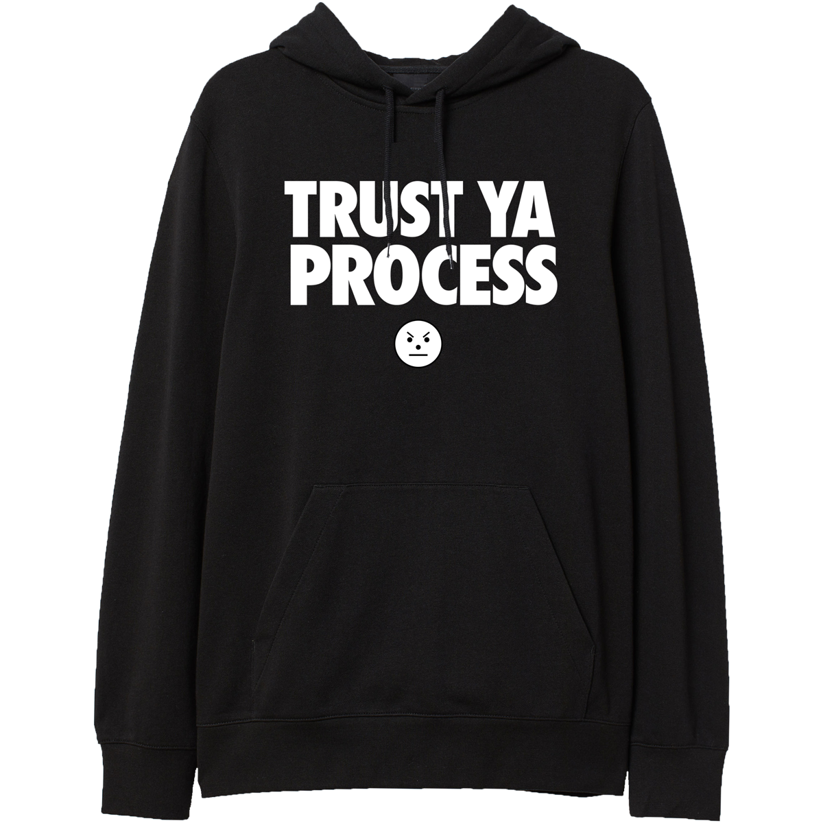 TYP Black Hoodie - Emoji & TM104 Digital Download