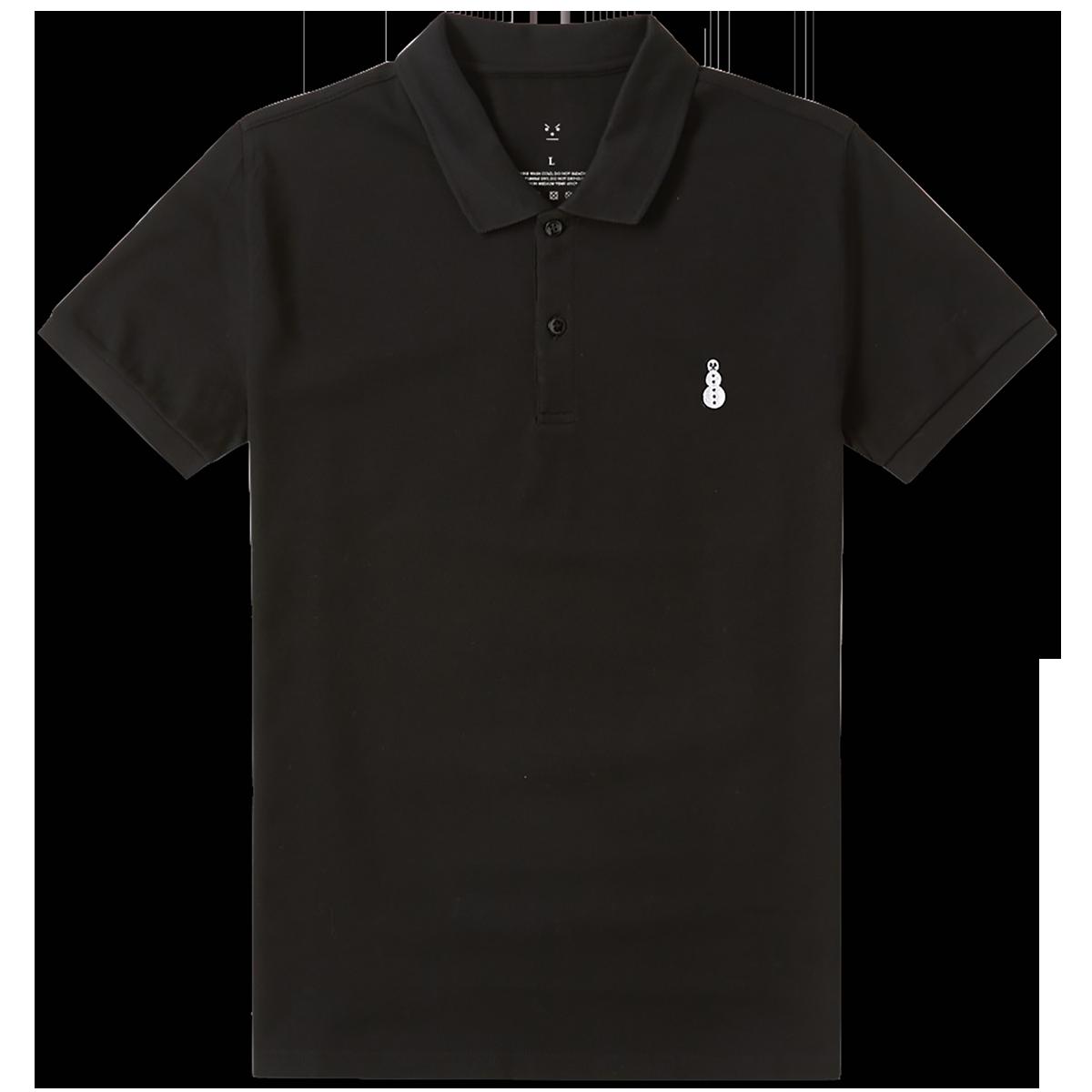 Snowman Polo [Black]