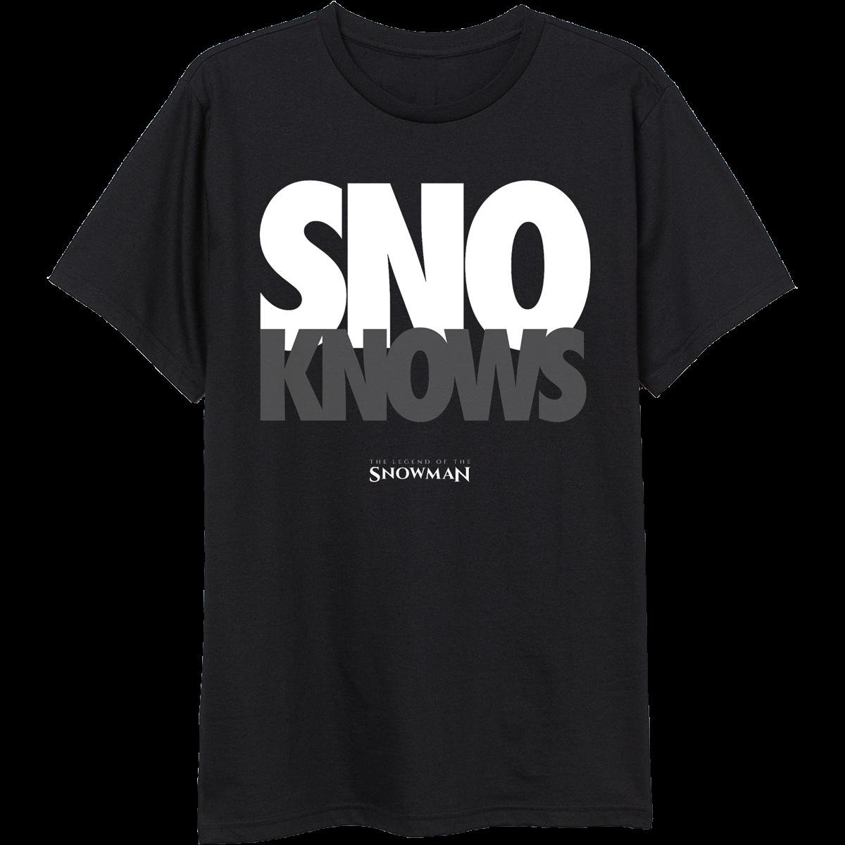 SnoKnows T-Shirt & TM104 Digital Download