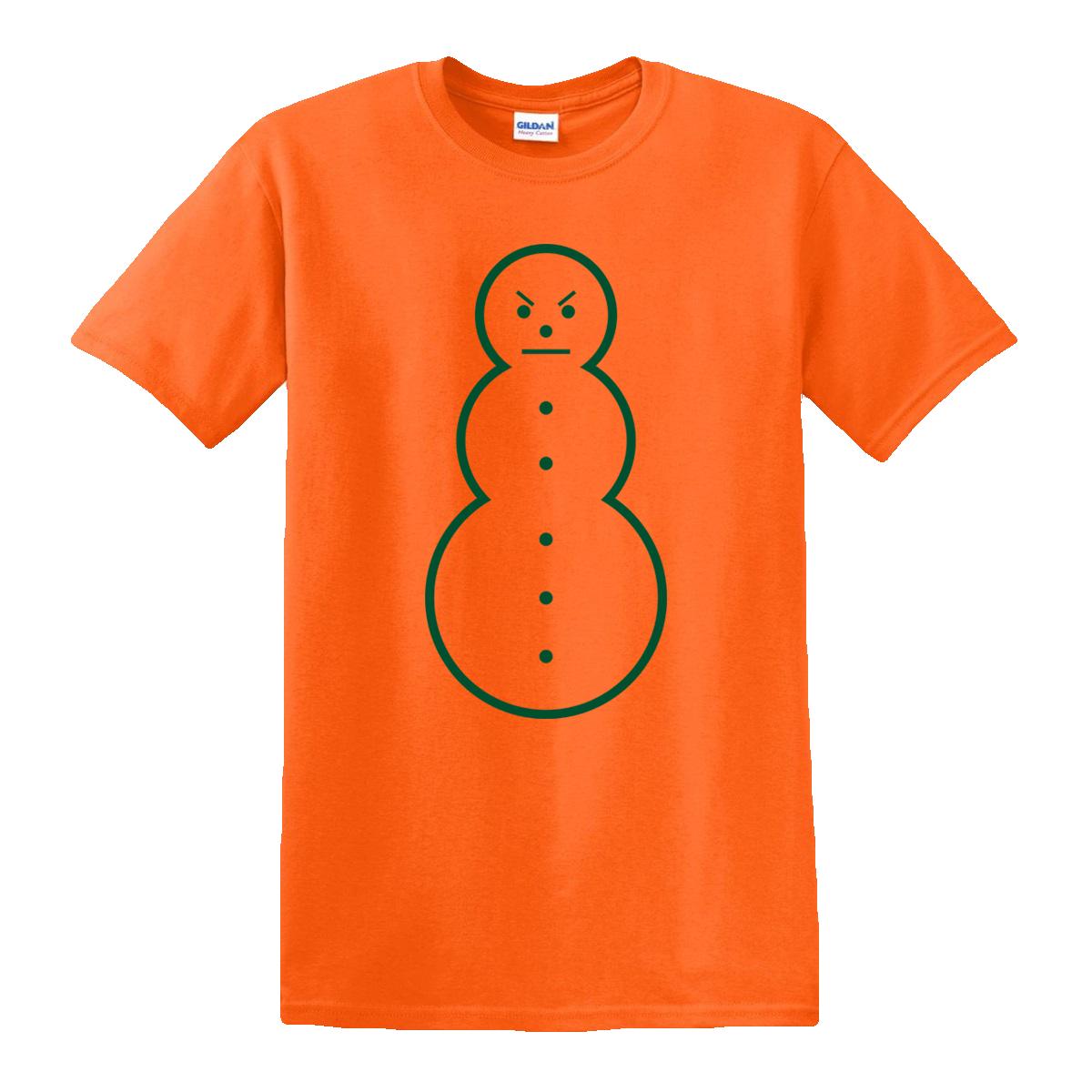 Snowman Tee [Orange/Green] & TM104 Digital Download