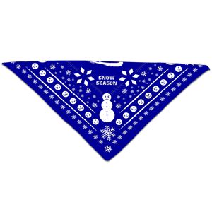 Snow Bandana [Blue]
