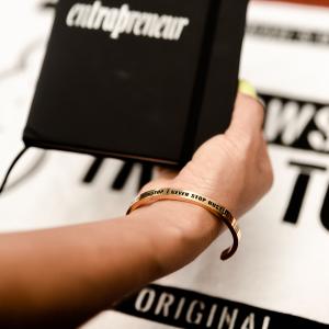 Hustle Yellow Gold Bracelet & TM104 Album Download Bundle