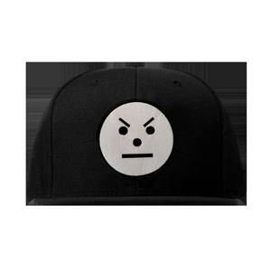 Snowman Emoji Snapback Hat