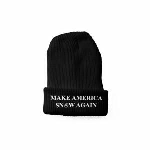 Make America Snow Again Beanie [Black]