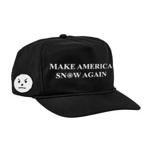 Make America Snow Again Hat [Black]