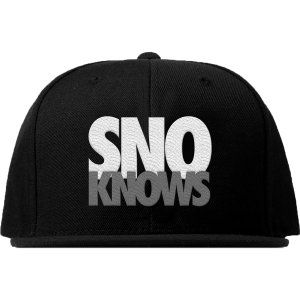 SnoKnows Snapback