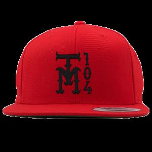TM104 Snapback [Red] + TM104 Digital Download