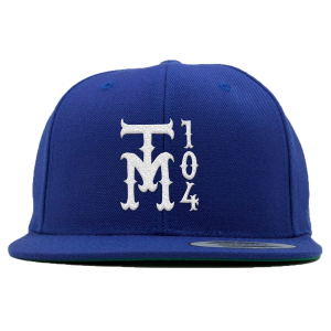 TM104 Snapback [Blue] + TM104 Digital Download